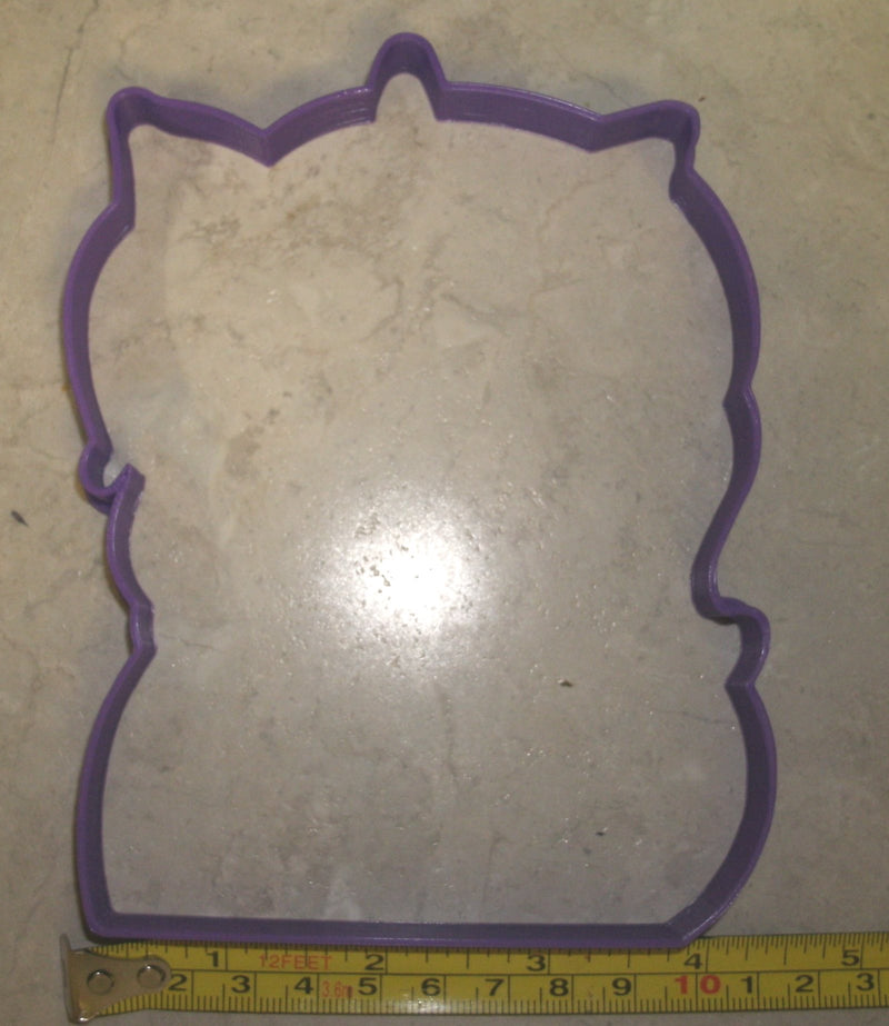 Unicorn Face 2 pc Cookie Cutter and Stamp Special Occasion Cookie Cutter Baking Tool Made in USA PR743