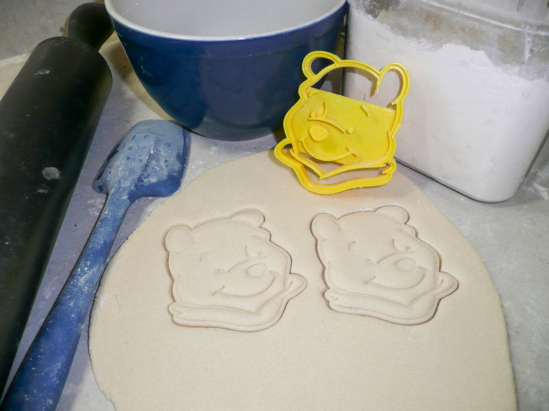 Winnie The Pooh Tigger Eeyore Piglet Set Of 4 Cookie Cutters USA PR493