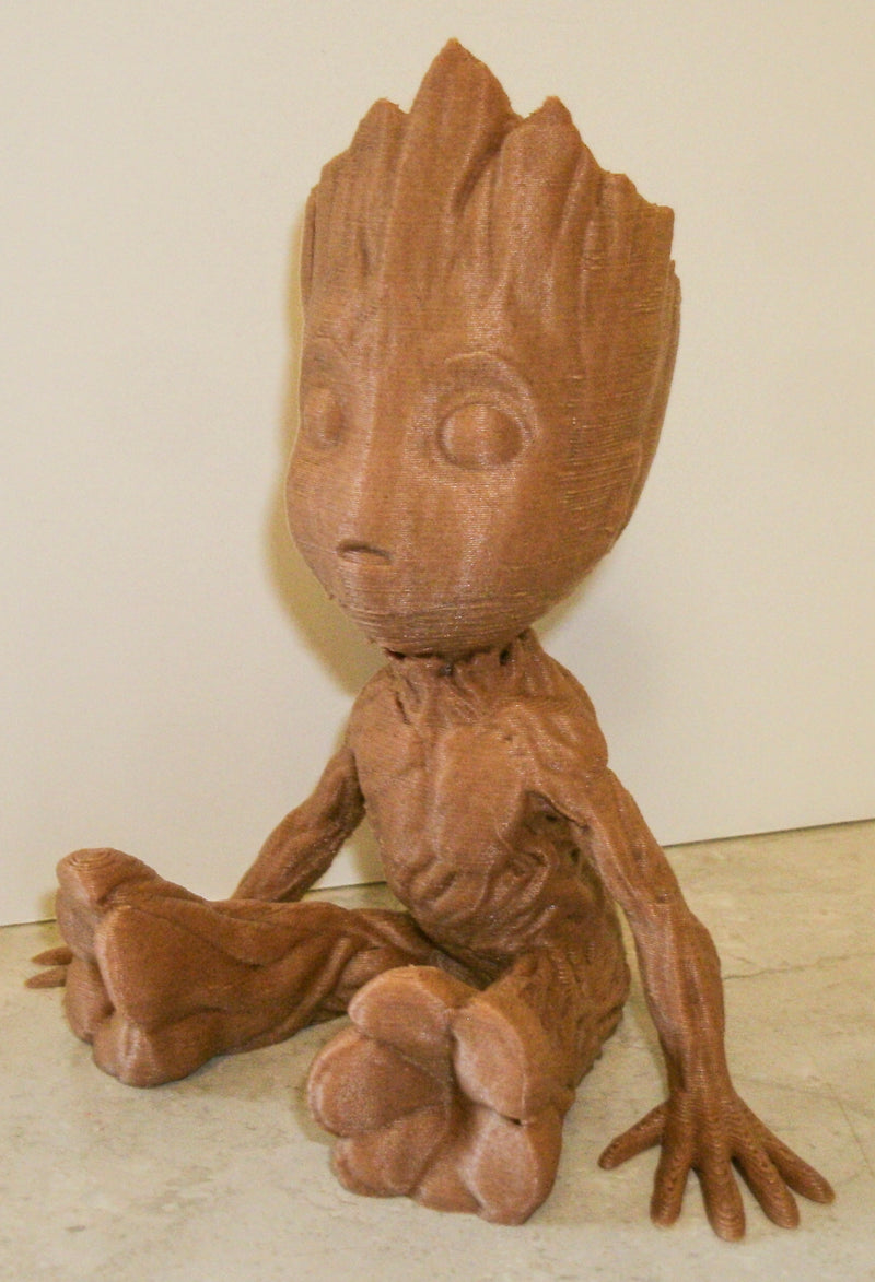Baby Groot Guardians of the Galaxy Movie Character Figurine 3D Printed Made in USA PR332