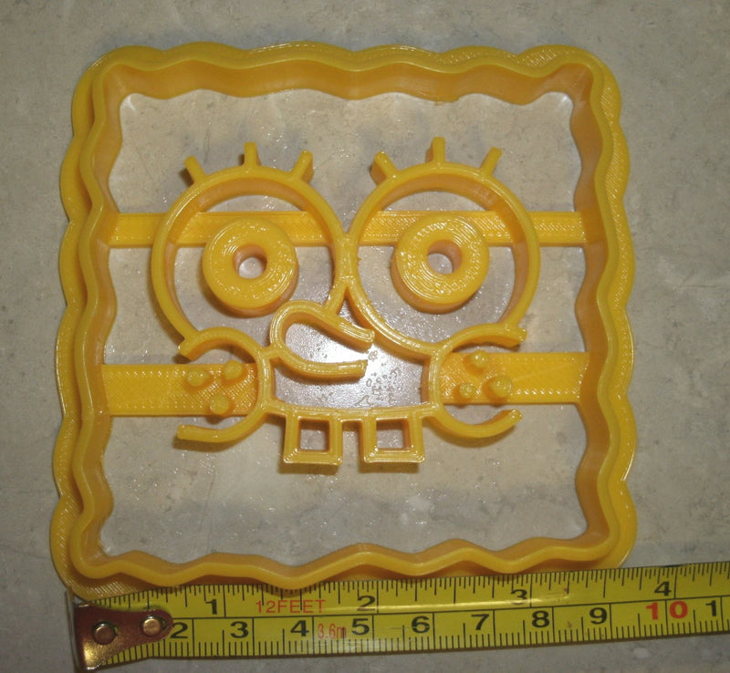 Spongebob Squarepants Cartoon Character Special Occasion Cookie Cutter Baking Tool Made In USA PR573