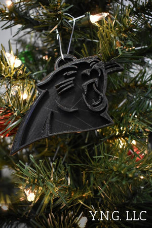 Carolina Panthers NFL Football Ornament Holiday Christmas Decor USA PR2063