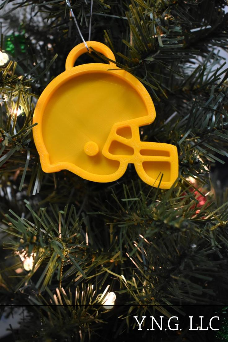 Cleveland Browns NFL Football Logo Hanging Ornament Holiday Christmas Decor Made In USA PR2076