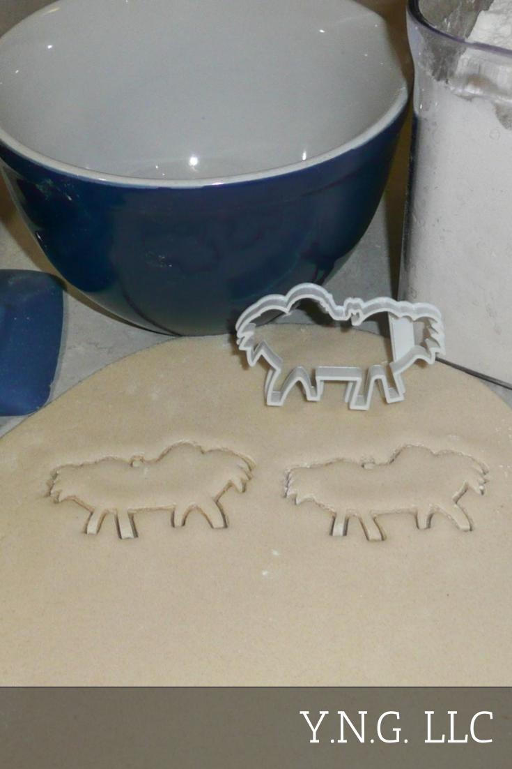 Baby Jesus In Manger Divine Infant Born To Mary Son Of God Christmas Nativity Scene Special Occasion Cookie Cutter Baking Tool Made In USA PR2207