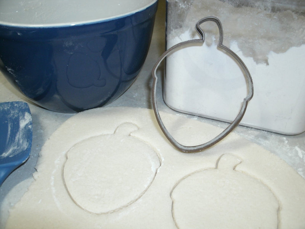 Acorn Oak Nut Seed Special Occasion Cookie Cutter Baking Tool Made in USA PR715