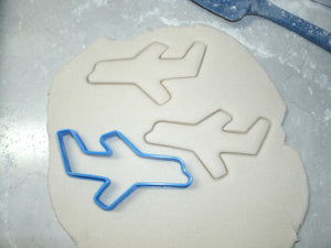 Airplane Flying Boeing Aircraft Travel Special Occasion Cookie Cutter Baking Tool Made in USA PR600