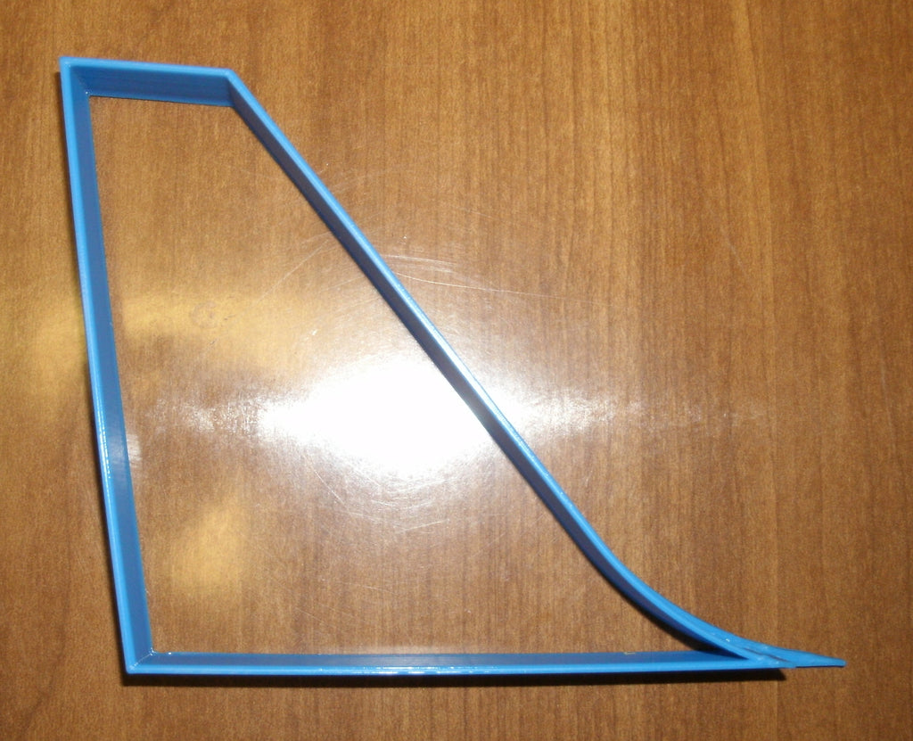 Airplane Tail Fin Vertical Stabilizer Flying Special Occasion Cookie Cutter Baking Tool Made in USA PR602