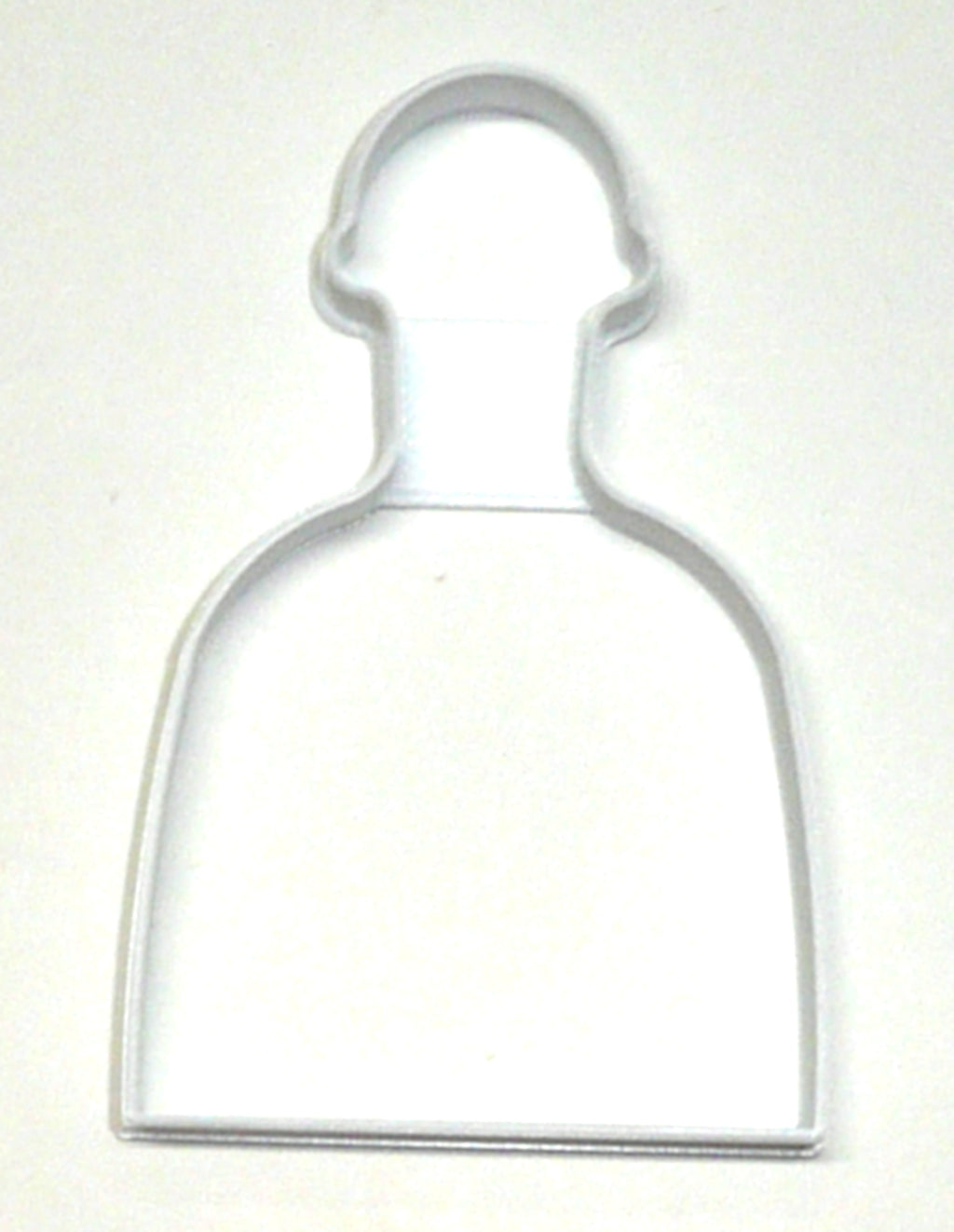 "6x Tequila Bottle Alcohol Fondant Cutter Cupcake Topper Size 1.75"" USA FD2862"