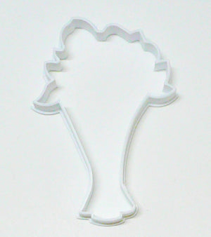 Flower Bouquet Outline Flowers Bundle Arrangement Bride Cookie Cutter USA PR2982