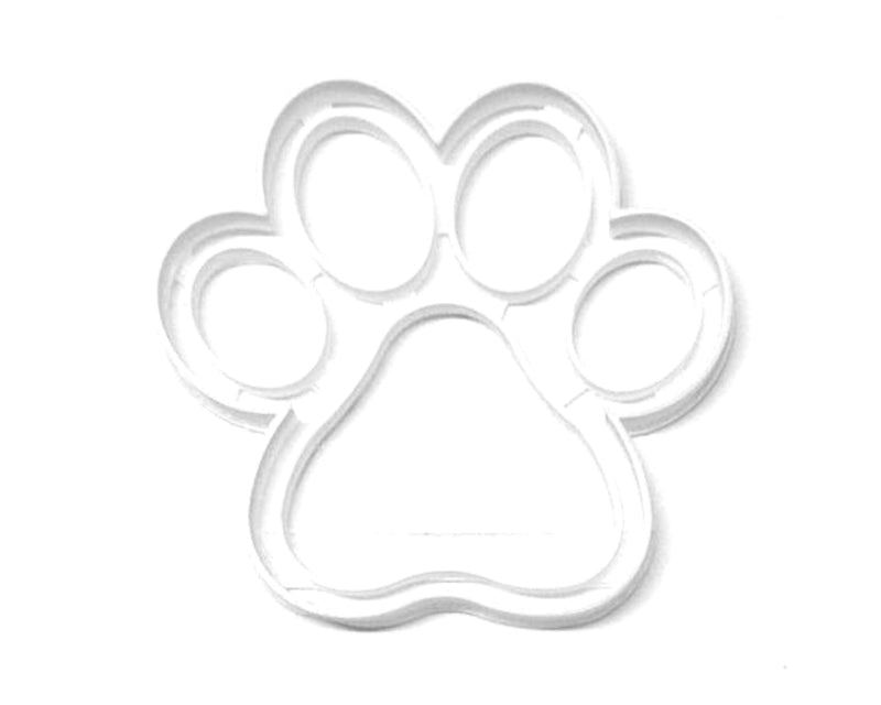 Large Paw Print Dog Cat Wolf Coyote Bobcat Cougar Cookie Cutter USA PR3216