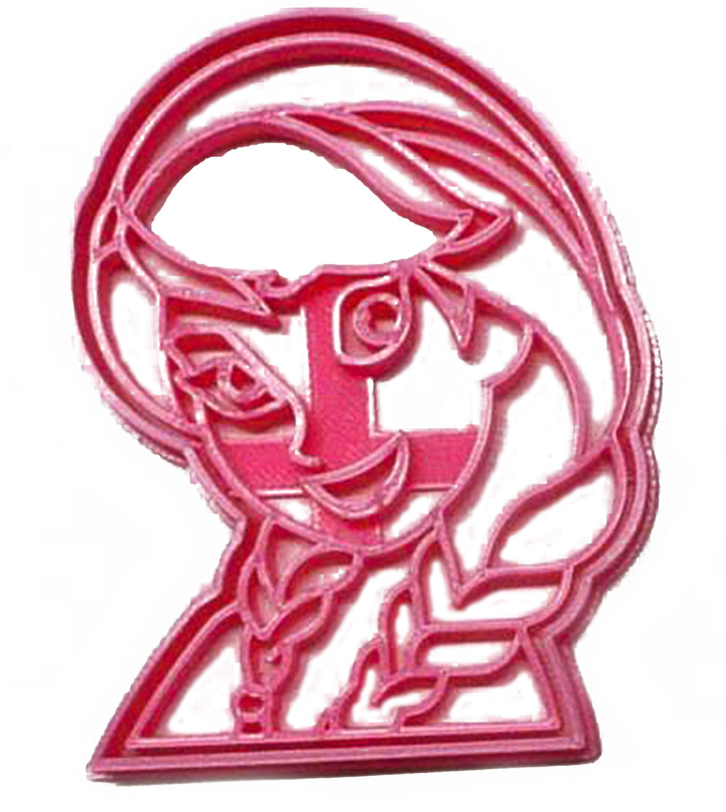 Anna Face Princess Sister Of Elsa Frozen Kids Movie Cookie Cutter USA PR3273