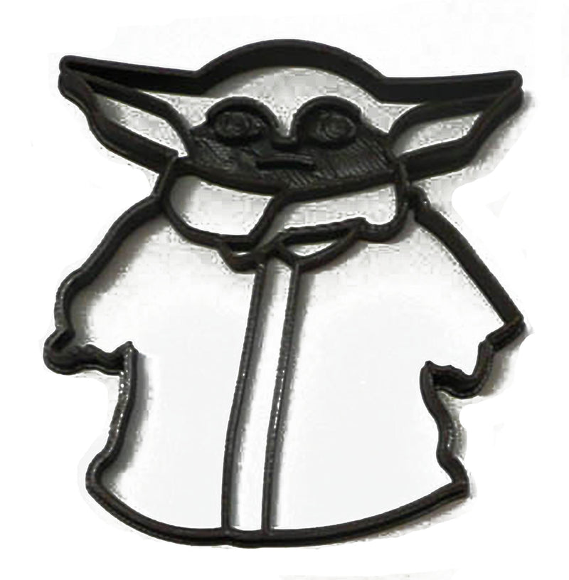 Baby Yoda Child Adorable Green Space Baby Star Wars Cookie Cutter USA PR3301