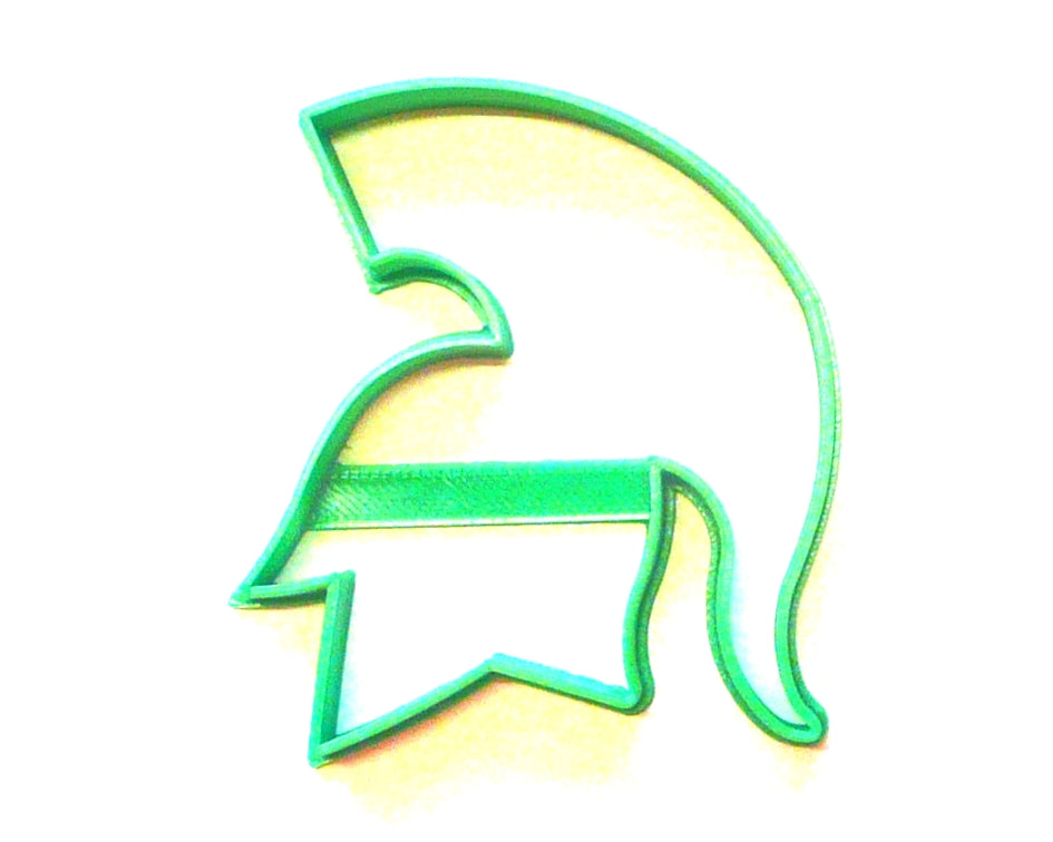 Michigan State Spartans Spartan Mascot Sports Athletics Cookie Cutter USA PR452