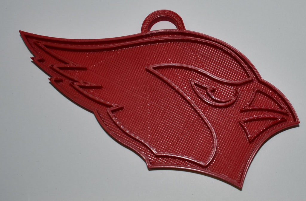 Arizona Cardinals NFL Football Logo Hanging Ornament Holiday Christmas Decor Made In USA PR2054