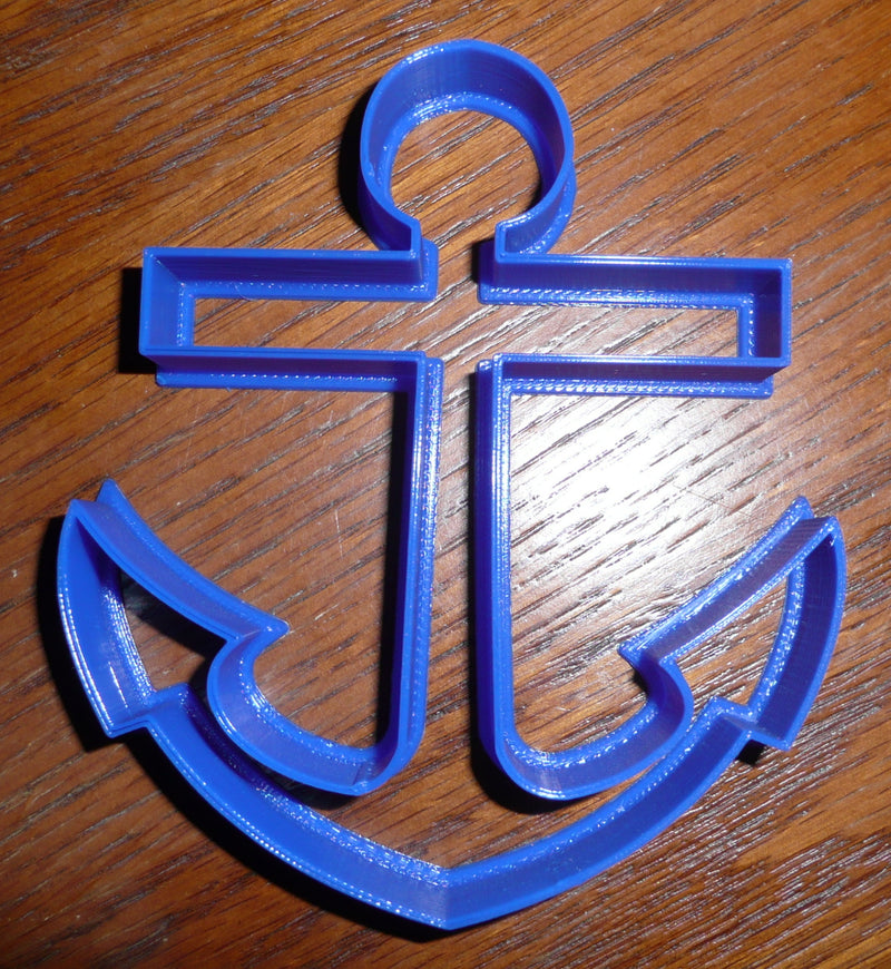 Anchor Nautical Cookie Cutter Baking Tool Special Occasion Made In USA PR311
