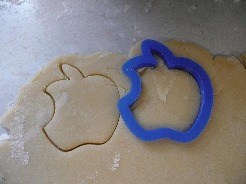 Apple Logo Brand Shape Baking Cookie Cutter Made In USA PR425