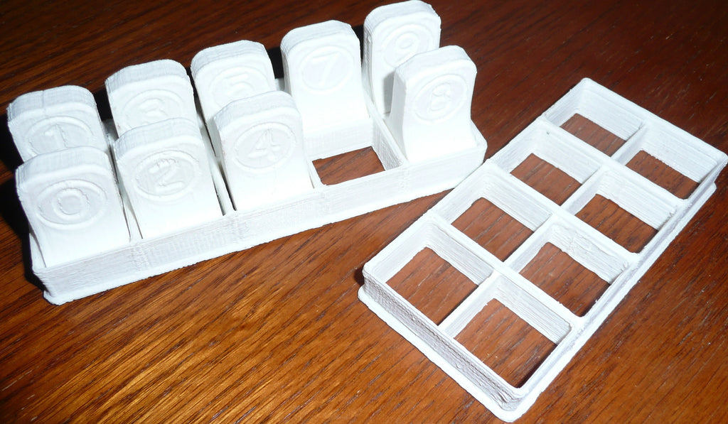 Dominoes Set Cookie Cutter Dominoes Holiday Special Occasion 3D PR326