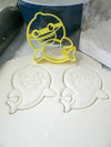 Baby Shark Family Song Viral Kids Dance Video Set Of 5 Cookie Cutters USA PR1158