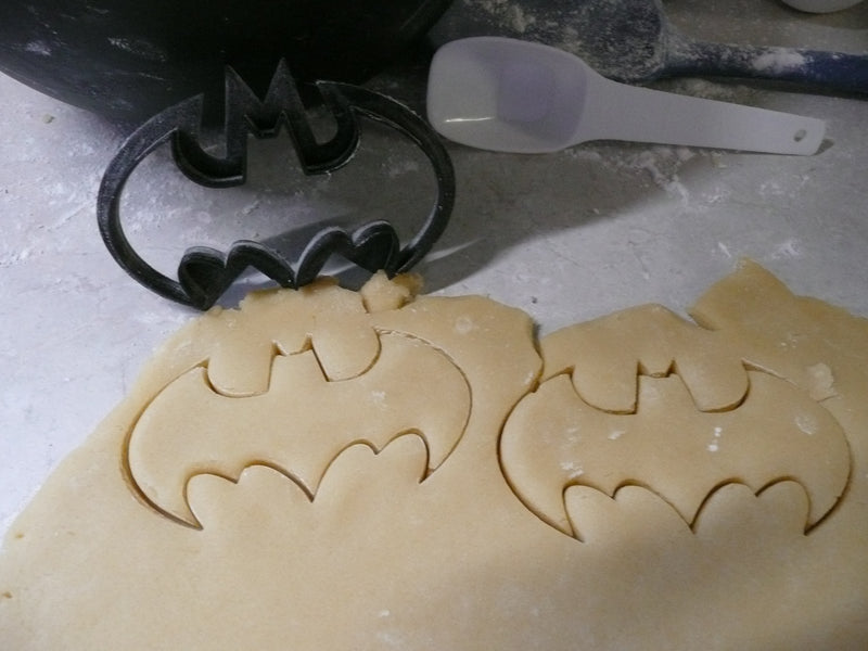 Batman & Superman Justice League DC Comics Super Heroes Movie Set of 2 Cookie Cutter Cake Fondant Baking Tool 3D Printed-Made in USA PR1018