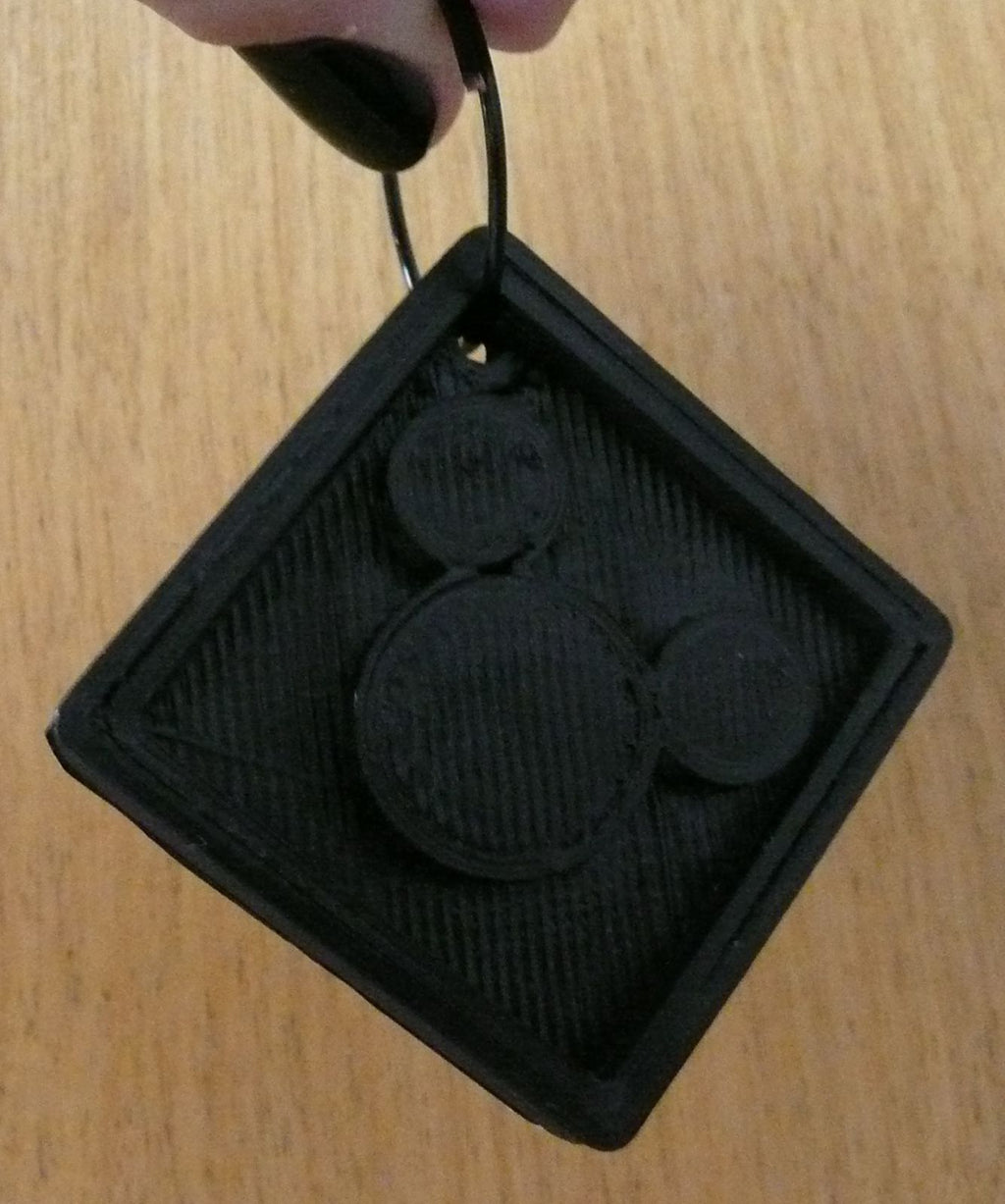 Mickey Mouse Keychain Disney Key Chain Keyring Key Ring 3D Printed PR157