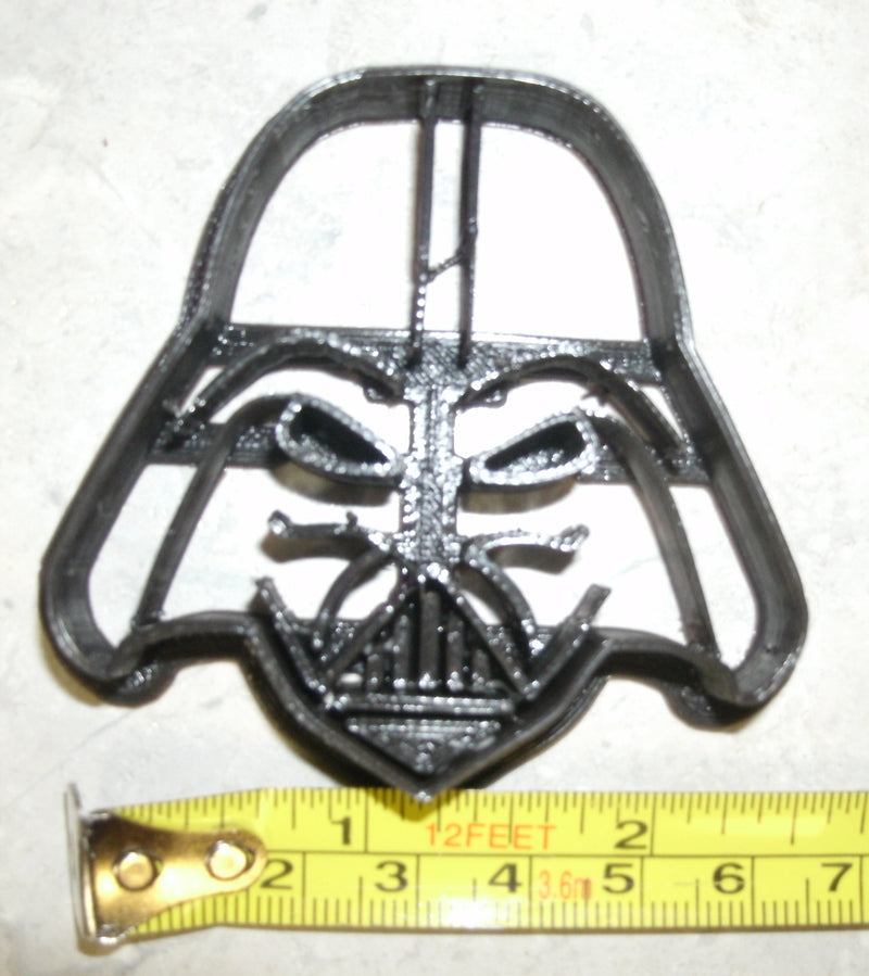 Darth Vader Helmet Star Wars Movie Character Special Occasion Cookie Cutter Baking Tool Made In USA PR99