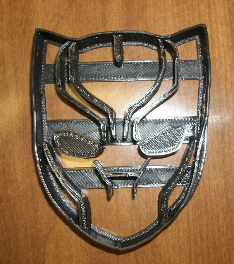 Black Panther Superhero Marvel Character Special Occasion Cookie Cutter Baking Tool Made in USA PR599