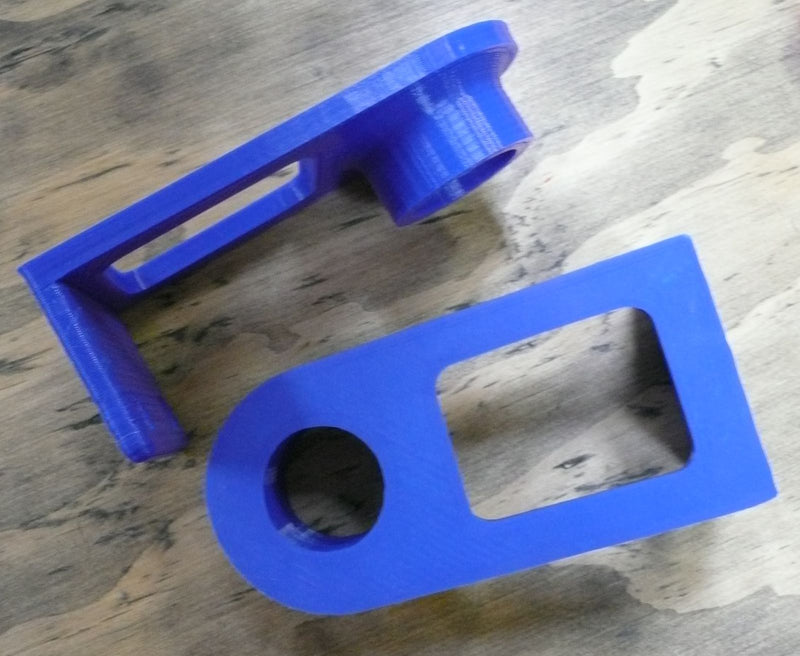 Paper Towel Holder For Under Cabinet Or Wall Mount 3D Printed Made In USA PR134
