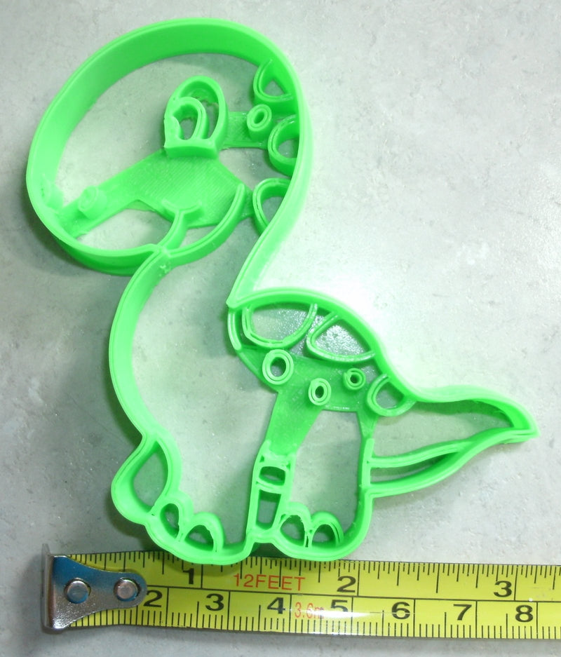 Brachiosaurus Dinosaur Dino Long Neck Plant Eating Sauropod Jurassic Arm Lizard Special Occasion Cookie Cutter Baking Tool Made In USA PR2339