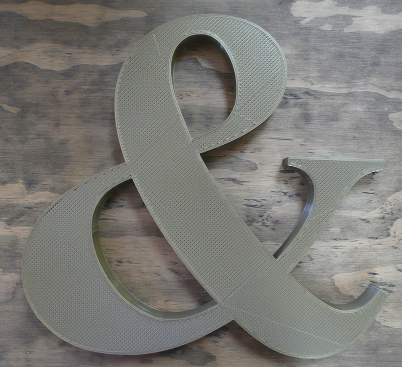 And Symbol & Wedding Engagement Any Occasion Photo Prop Sign 3d Printed PR231