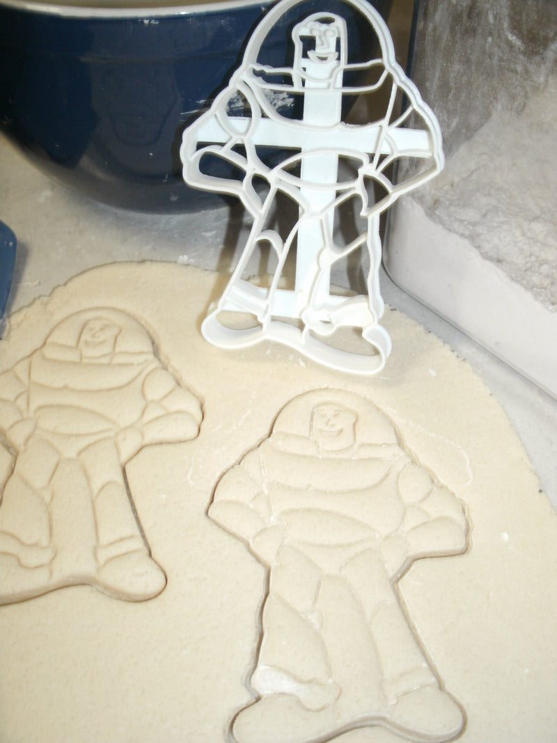 Buzz Lightyear and Woody Toy Story Cowboy Astronaut Special Occasion Cookie Cutter Cake Fondant Baking Tool 3D Printed -Made in USA PR1002