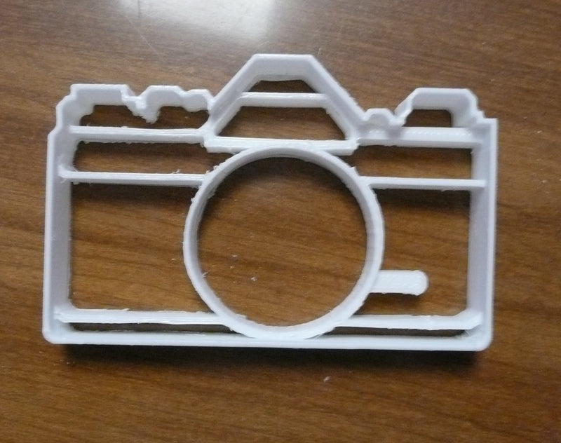 Camera Photography Special Occasion Cookie Cutter Baking Tool Made in USA PR448