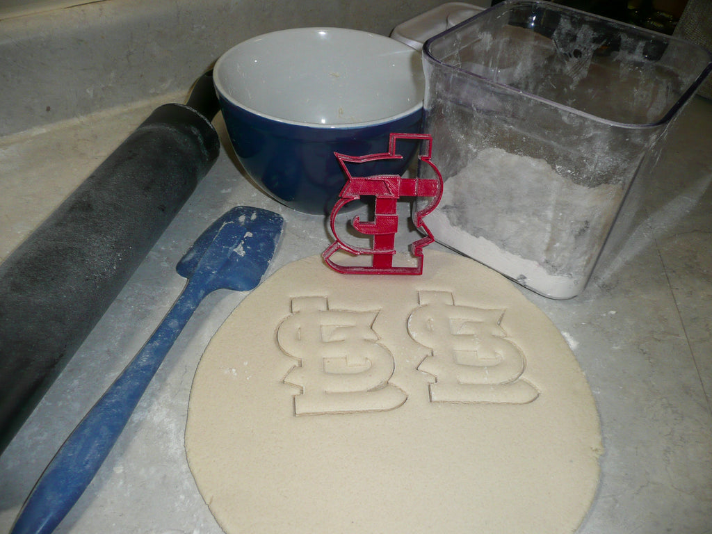 STL St Louis Cardinals Baseball MLB Team Special Occasion Cookie Cutter Baking Tool Made In USA PR2089