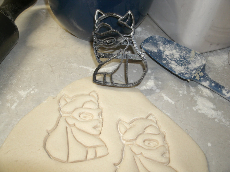 Cat Woman Superhero Logo Cookie Cutter Baking Tool Made In USA PR540