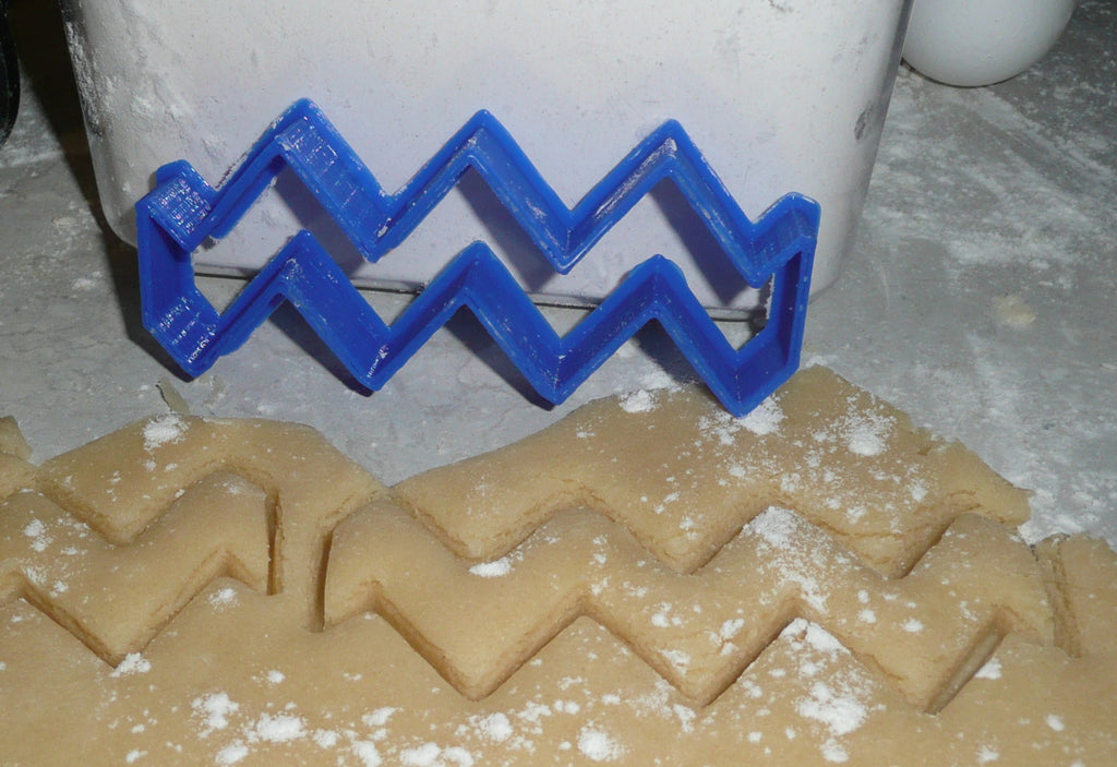 Chevron Cookie Cutter Cake Special Occasion 3D Printed - Made USA PR262