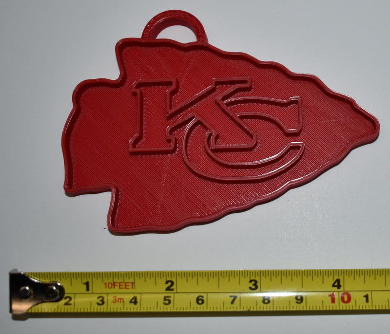 Kansas City Chiefs NFL Football Ornament Holiday Christmas Decor USA PR2071
