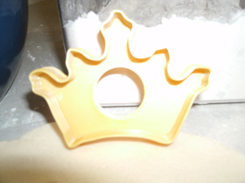 Cars Or Crowns Gender Reveal Baby Shower Set Of 3 Cookie Cutters USA PR1199