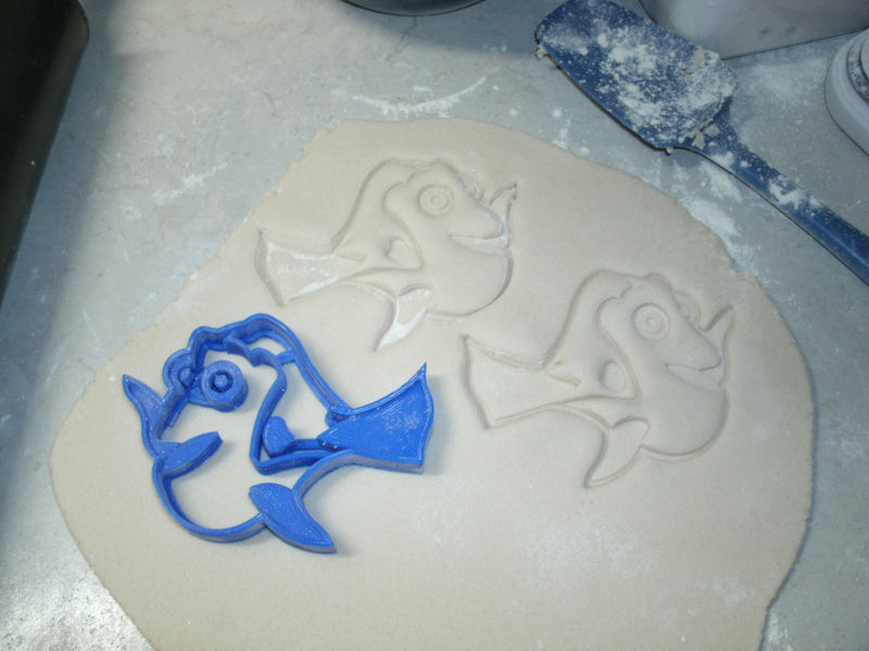 Finding Dory Nemo Fish Kids Cartoon Set Of 2 Cookie Cutters USA PR1046