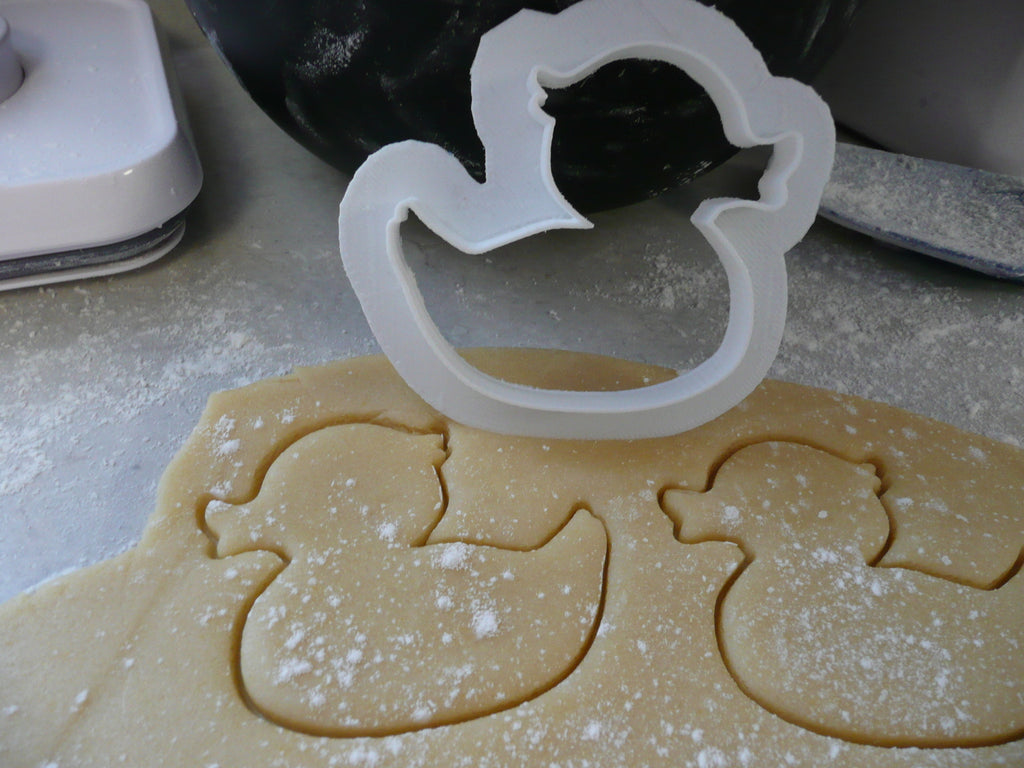 Duck Duckie Baby Shower Special Occasion Cookie Cutter Baking Tool Made in USA PR476