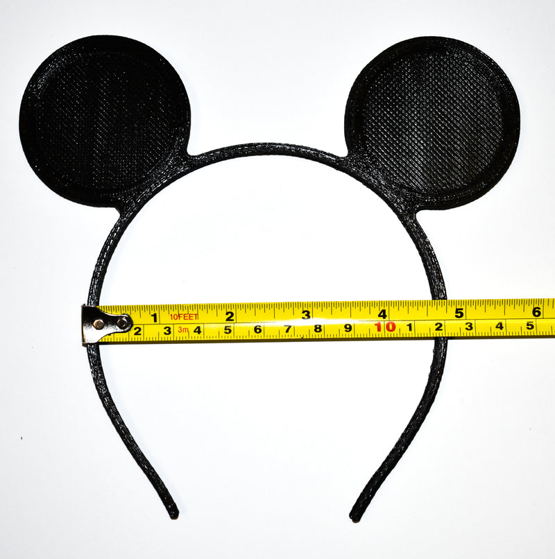 Mickey Or Minnie Ears Headbands Set of 12 Costume Party Dress Up Pretend Play Made In USA PR2008