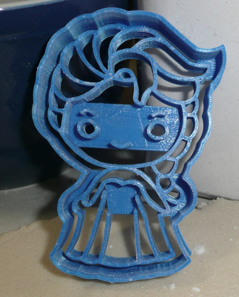 Elsa Ice Snow Queen Winter Frozen Movie Character Cookie Cutter USA PR2646