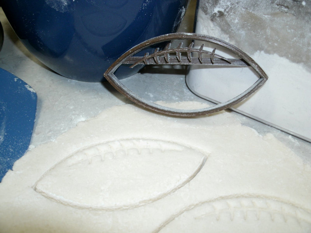 Football Ball American Sport Special Occasion Cookie Cutter Baking Tool Made in USA PR680