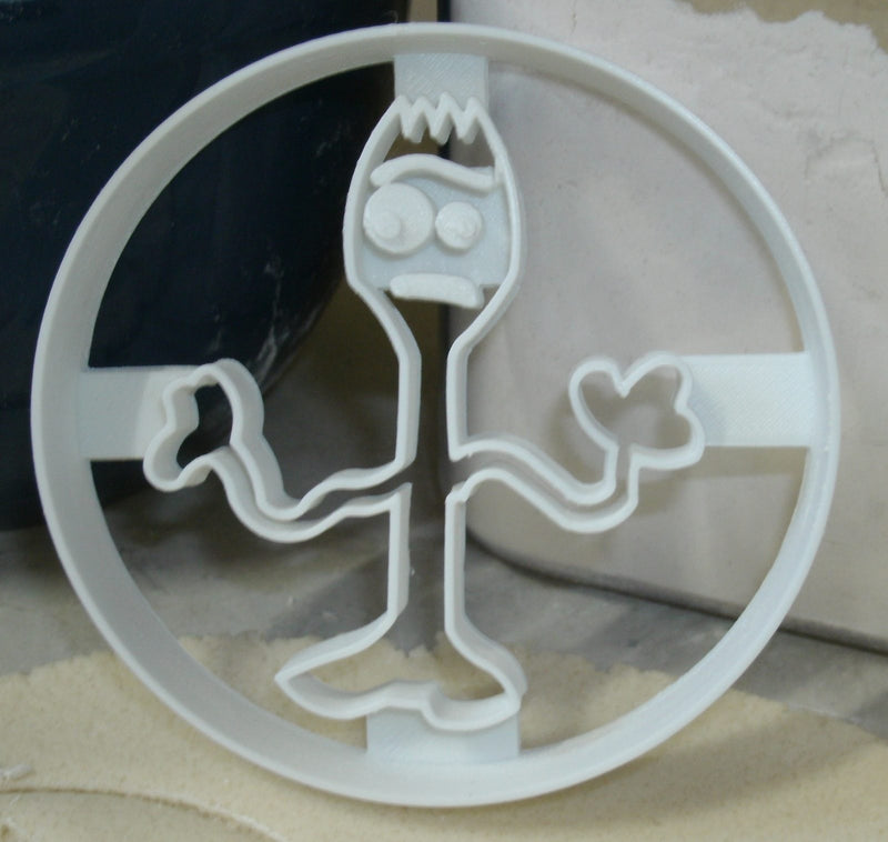 Forky from Toy Story Movie Animation Character Spork Cookie Cutter USA PR2836