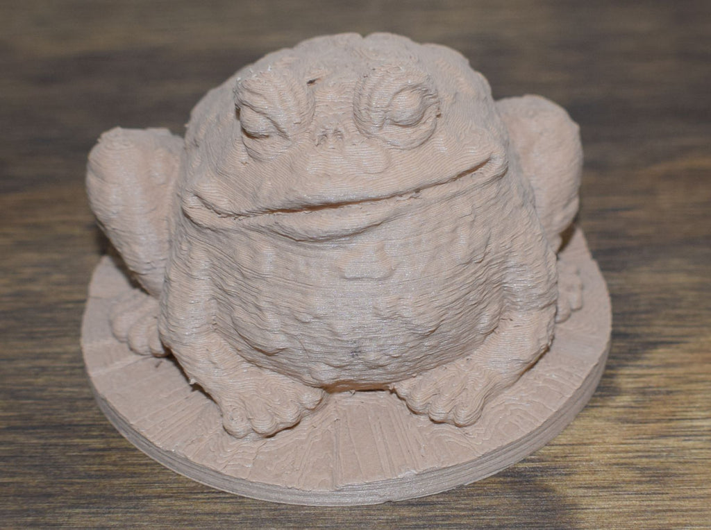 Garden Toad Home Decor Office Cute Figurine Frog 3D Printed - Made In USA PR43