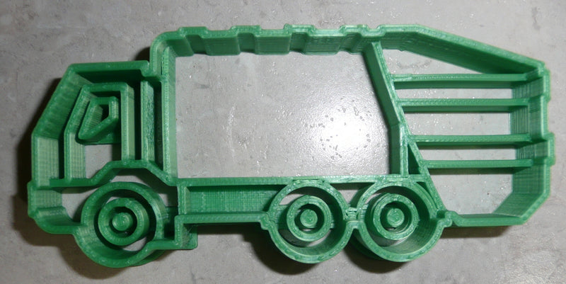Garbage Truck Trash Collector Solid Waste Haul Landfill Cookie Cutter USA PR2606