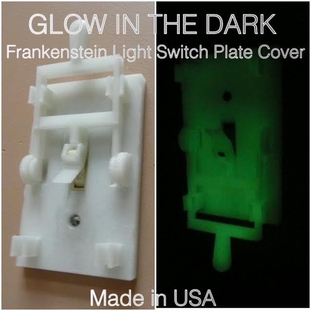 Frankenstein Light Switch Cover Plate Flip Handle Home Choose Color USA PR78-1