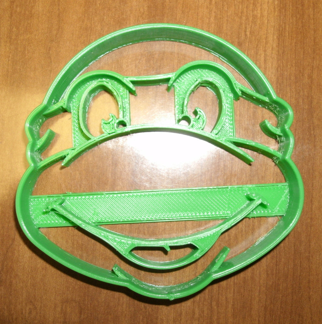 TMNT Teenage Mutant Ninja Turtle Leonardo Raphael Donatello Michelangelo Special Occasion Cookie Cutter Baking Tool Made in USA PR484