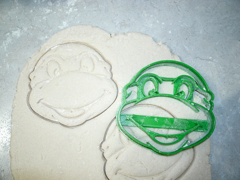 Teenage Mutant Ninja Turtles TMNT Characters Set Of 4 Cookie Cutters USA PR1072
