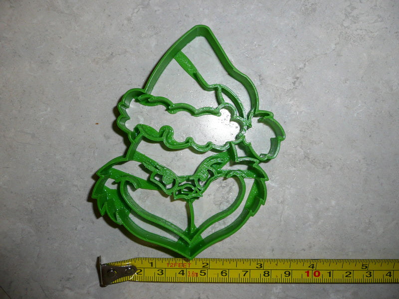 Grinch Face And Dog Max Dr Seuss Christmas Set Of 2 Cookie Cutters USA PR1541