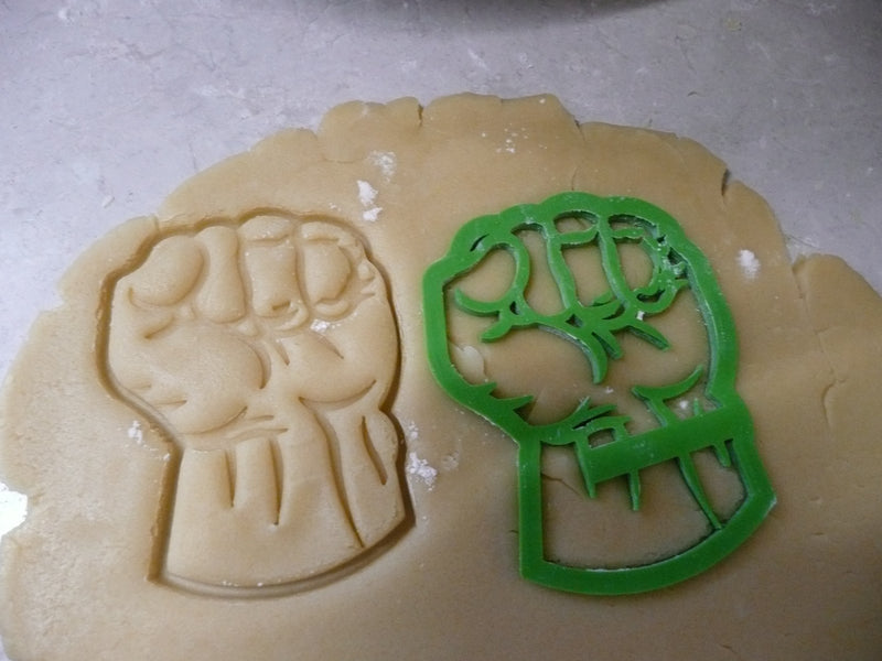 Hulk Superhero Marvel Character Special Occasion Cookie Cutter Baking Tool Made in USA PR463