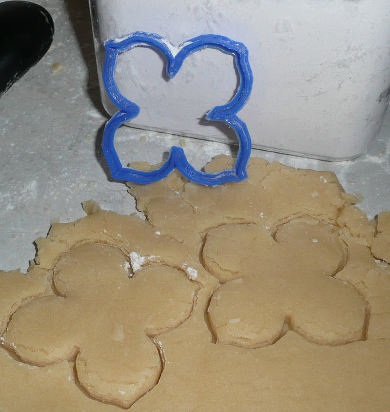 Hydrangea Flower Cookie Cutter Baking Tool Special Occasion Made In USA PR298