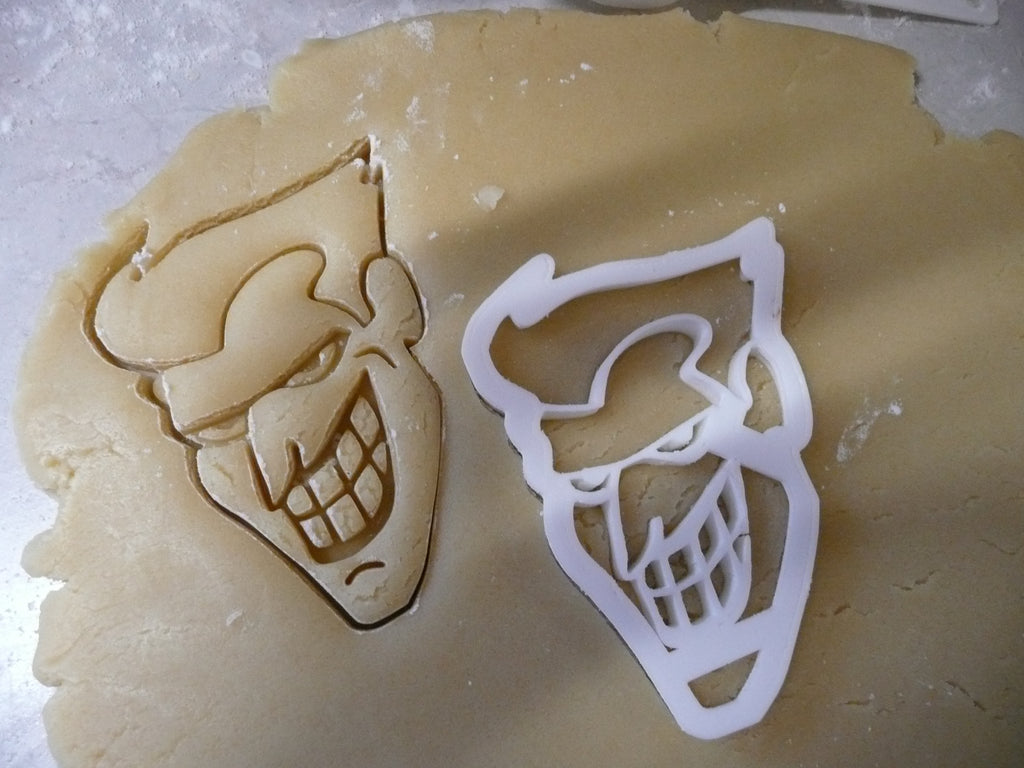 Joker DC Comics Batman Dark Knight Villain Special Occasion Cookie Cutter Baking Tool Made in USA PR454